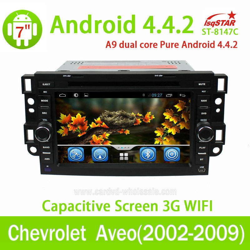 Quad Core 1.6G CPU 16GB Flash Pure android 4.4 Car dvd for Chevrolet Epica/Lova/ Captiva/Tosca(2006-2011) radio gps