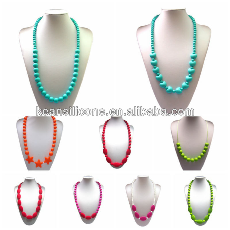 food grade silicone indian beads jewellery designs