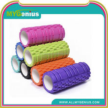 I053 New Coming Exercise Pliates Grid Hollow EVA Foam Roller