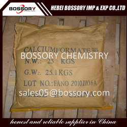 Calcium Formate 98 min used in chemical