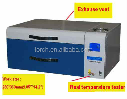 newly upgraded desktop lead free reflow solder with in-line temperature testing T200C+