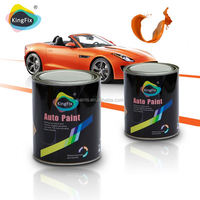 factory manufacture 1K solid colors fast dry scratch resistant paint for car designs