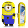 Despicable me minions 3d silicone soft case cover for samsung galaxy note 2