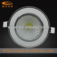 2013 Hong Kong lighting fair show with AC85-265V 5W Aluminium LED Downlights