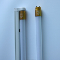 4ft 18W glass T8 light tube separation with bracket
