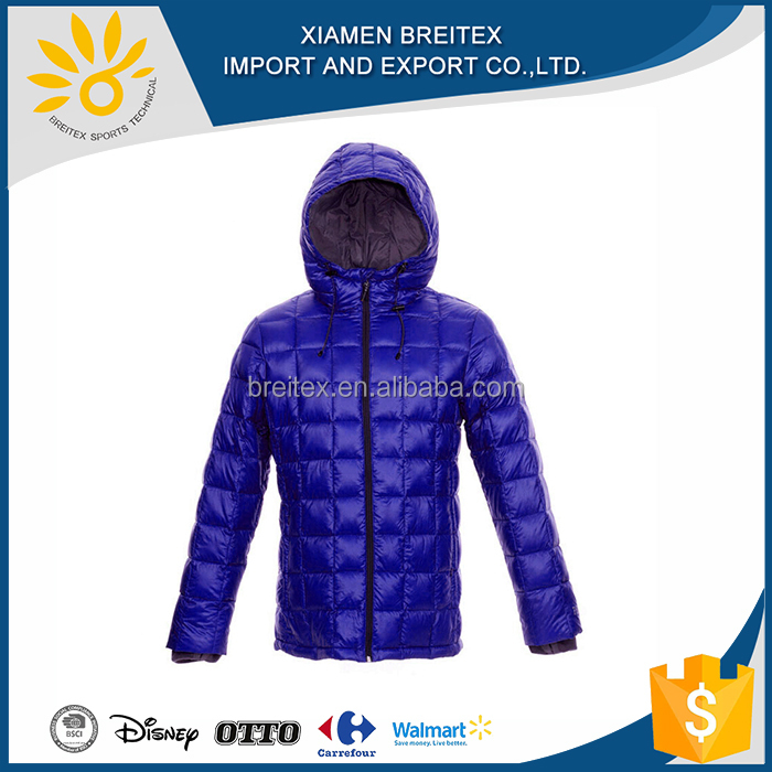 China Wholesale european nylon down clothing men jacket for winters