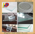 hot sale 3.2mm 4mm - 19mm ultra white low iron clear float solar glass