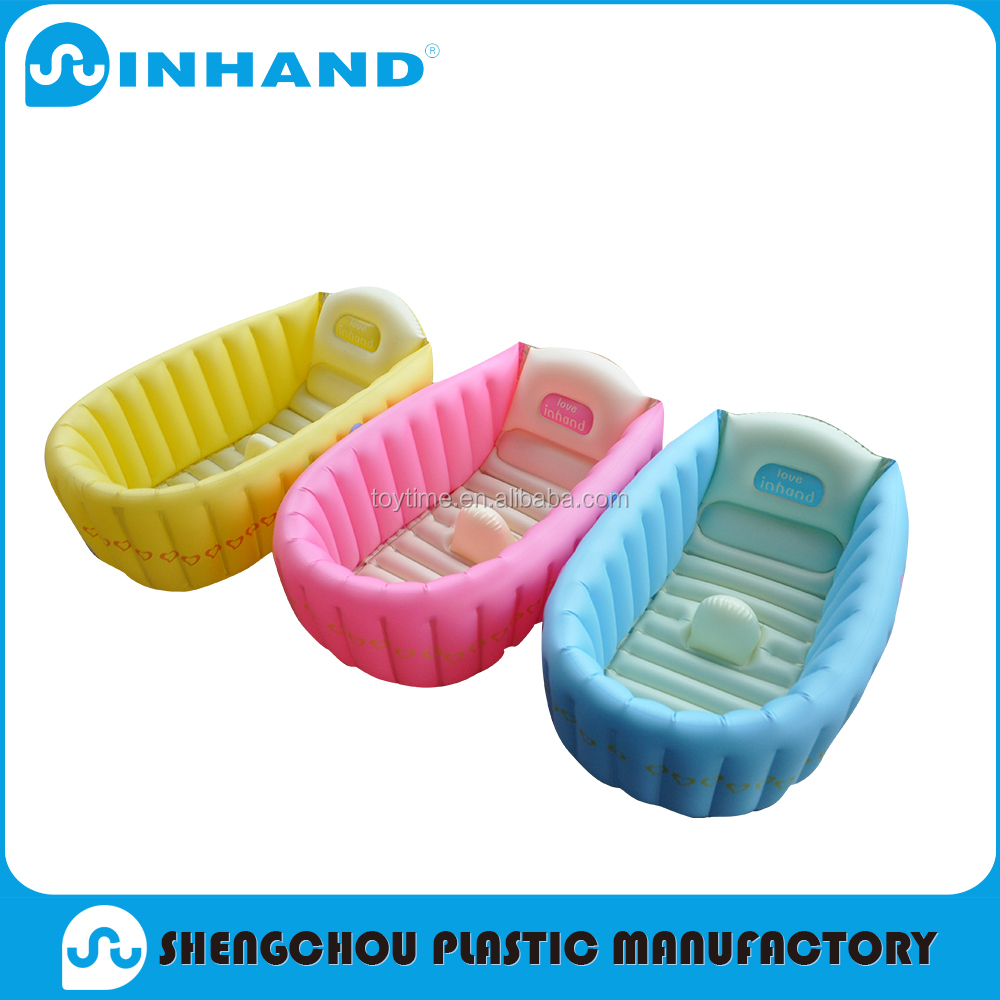 Factory sale Durable pvc inflatable floating baby bathtub/round swimming pool inflatable