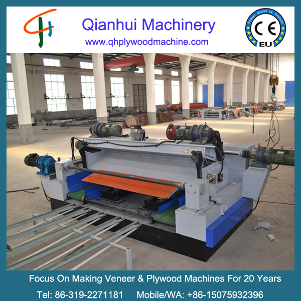 2600mm wood veneer peeling machine/wood CNC lathe machine