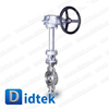 Didtek Stainless Steel Cryogenic Double Offset