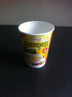Double wall double PE food grade paper cup for instant noodle and soup