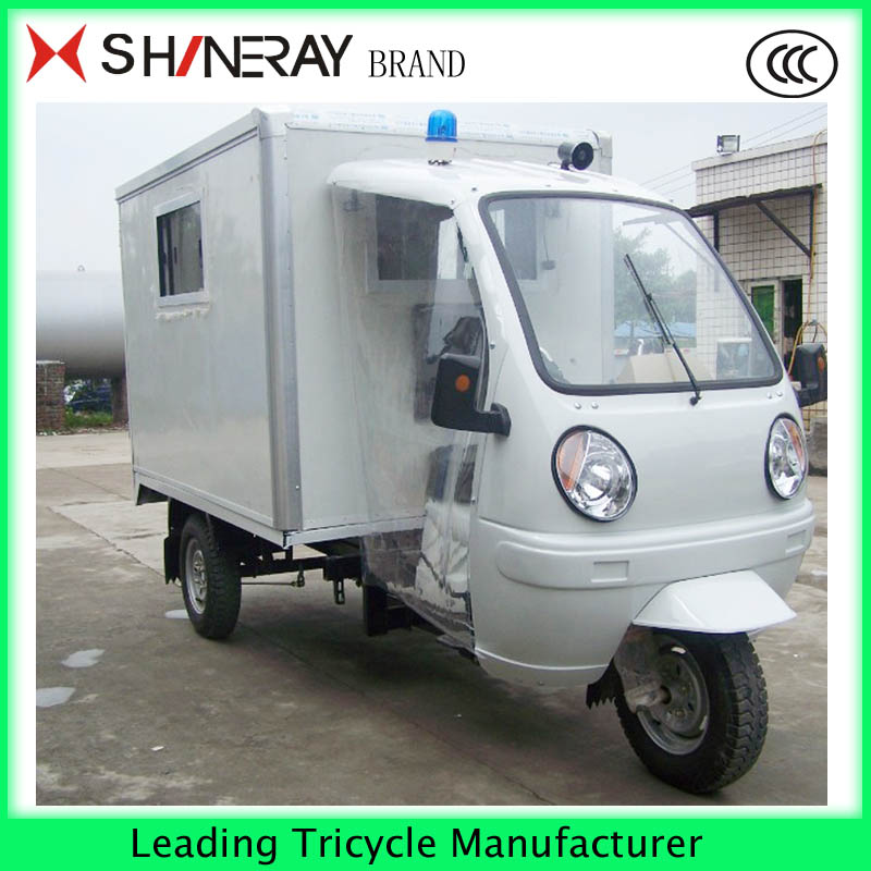 Large Capacity passenger adult tricycle mercades ambulance