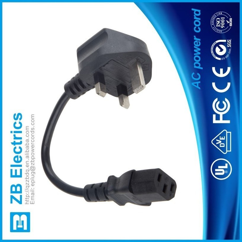 AC Power cords travel extension cord for USA/UK/Europe/Austrilia