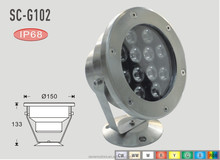 SC-G102 Multi Color Led Swimming Pool Light 12v led underwater ring light
