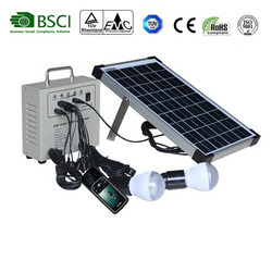 Portable and high light 10W Solar Lighting Kit hot sales