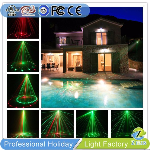 12 Images Red Green remote control small laser light