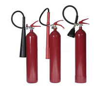 3kg co2 fire extinguisher with wall bracket
