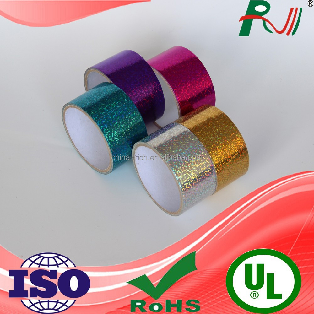 Reasonable price good appearance holographic laser duct tape