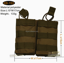 Military Airsoft Double Utility Pouch with Molle system