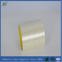 Self adhesive sticky no adhensive bi-directional (cross) fiberglass tape