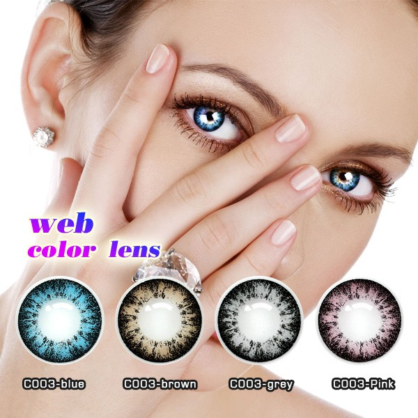 Best selling fashion wholesale big eye toric korea color contact lens