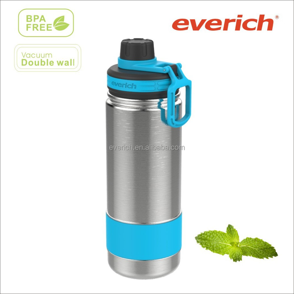 walmart approved factory 18oz double wall stainless steel thermo water bottle