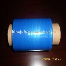 Blue Colored PE Hand Use Plastic Film Roll