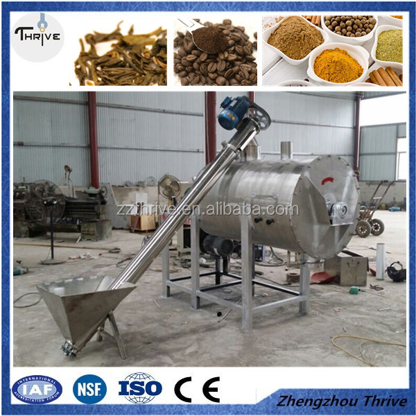 Food industry use coffee powder mixer/tea powder mixing machine with stainless steel 304