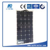 100w Semi flexible soalr panel for RV golf cars CE approved
