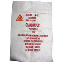 50kg white sugar packaging pp woven bags China factory price