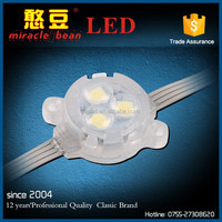 Outdoor IP67 30mm RGB Full Color Addressable Led Pixel Module Light For Amusement Park Lights