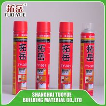 Polyurethane newest expanding foam sealant filling for wall