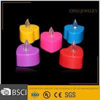 Wedding decoration Heart shape led candle colour changing led Tealight Candles