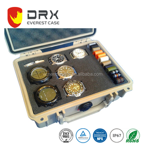 EVEREST IP67 Waterproof Protective plastic travel watch case