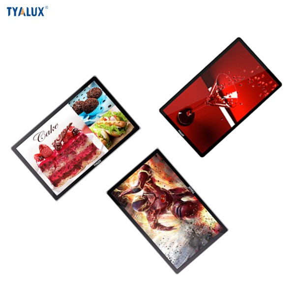 22 Inch High Brightness Wall Mounted Digital Signage Screen Advertising for Bus