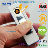 Silfa Super mini rechargeable USB ligher latest gift items