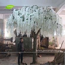BLS080 Factory hot sale white artificial wisteria flower tree