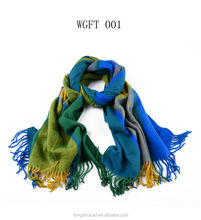 New fashion winter scarf lattice printed scarf polyester scarf