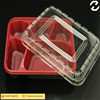 China supplier Disposable 5 compartments lunch tray