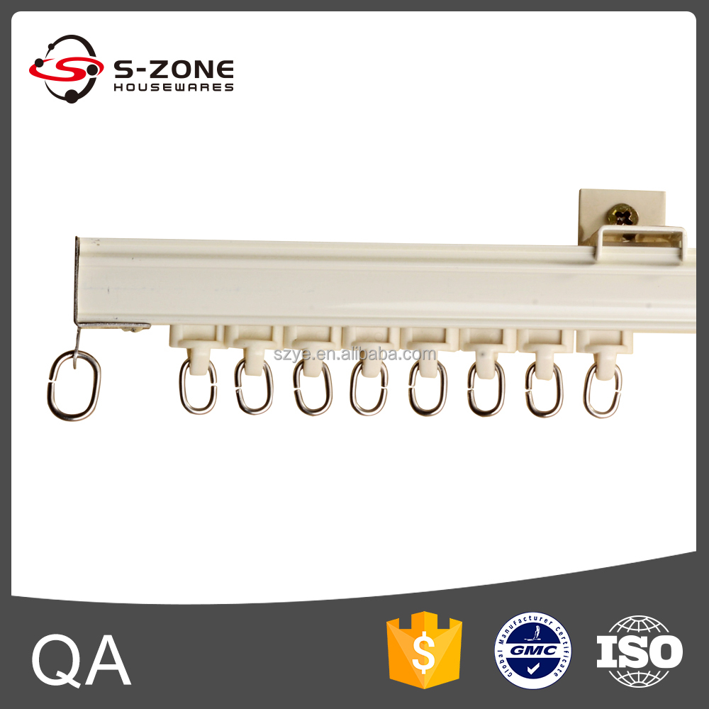 classic decorative sliding curtain track and hotel curtain track