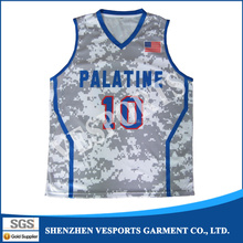 Custom cheap men reversible wholesale blank all over sublimation printed basketball jersey