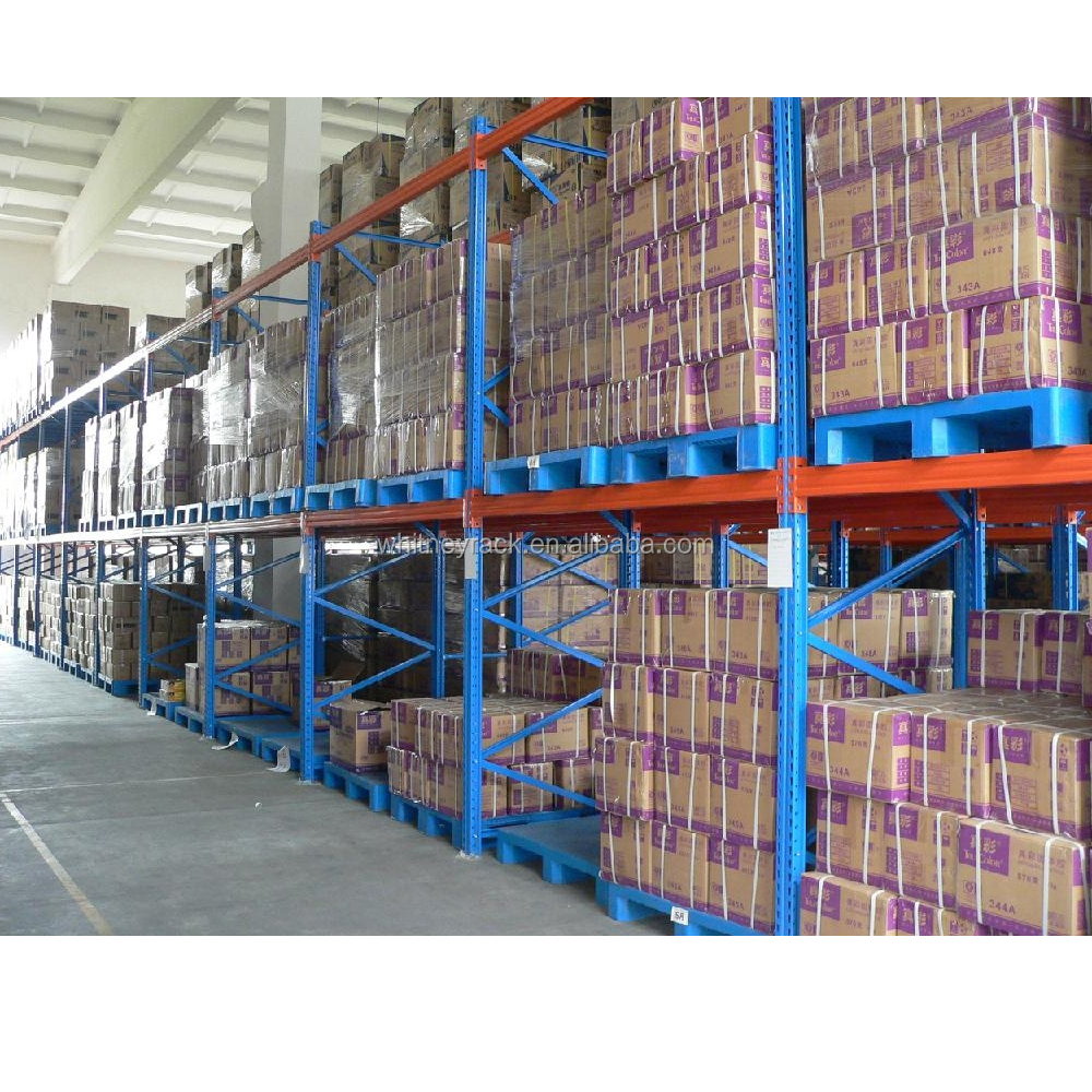 Warehouse storage shelving metal dispaly rack shelves for sale with high standard
