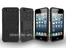 Factory Supply 2014 Cool Anti-shock Hybrid Heavy Duty Armor Hard Case For Apple iPhone 5 5s