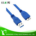 High Speed USB 3.0 A to Micro B Cable for WD/Seagate/Toshiba/Samsung/Hitachi EXT HDD