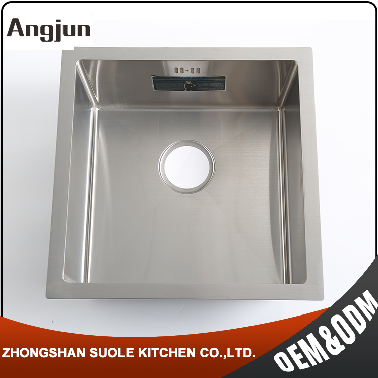 Manual Welding 20CM Deepth Universal Industrial Stainless Steel Sinks