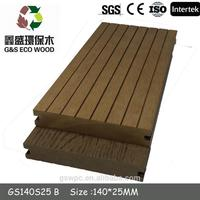 Outdoor plastic composite wood decking for garden with CE certificate