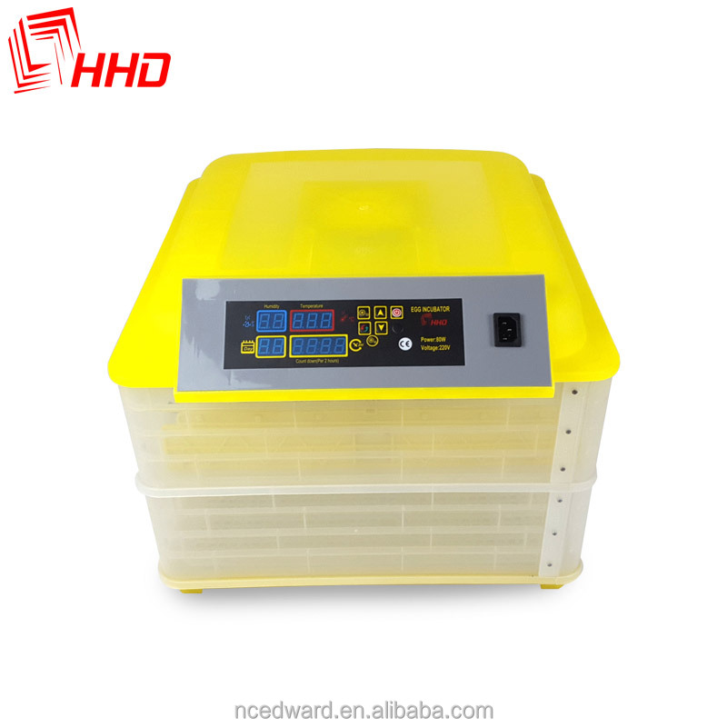 Promotion CE Certificate chiken eggs digital automatic incubator 96 eggs hatcher