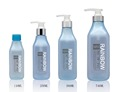 110ML, 250ML, 380ML, 740ML PET shampoo bottle with lotion pump