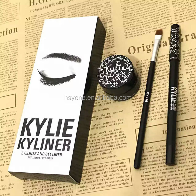 Good Quality 3pcs=1kit Kylie Cosmetics Kyliner Gel Liner