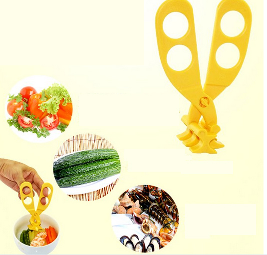 New products small <strong>silicone</strong> Consisting scissors for baby food